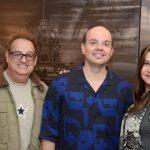 Wilson Nunes, Alan Fontes e Andreia Dias
