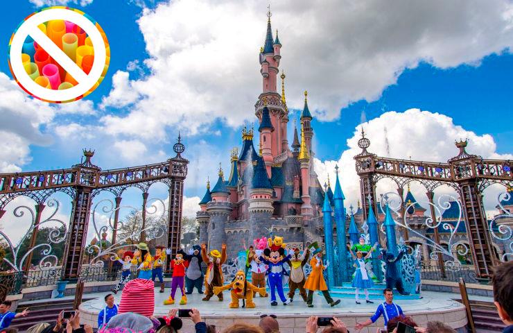 Disney vai banir canudinhos de plástico