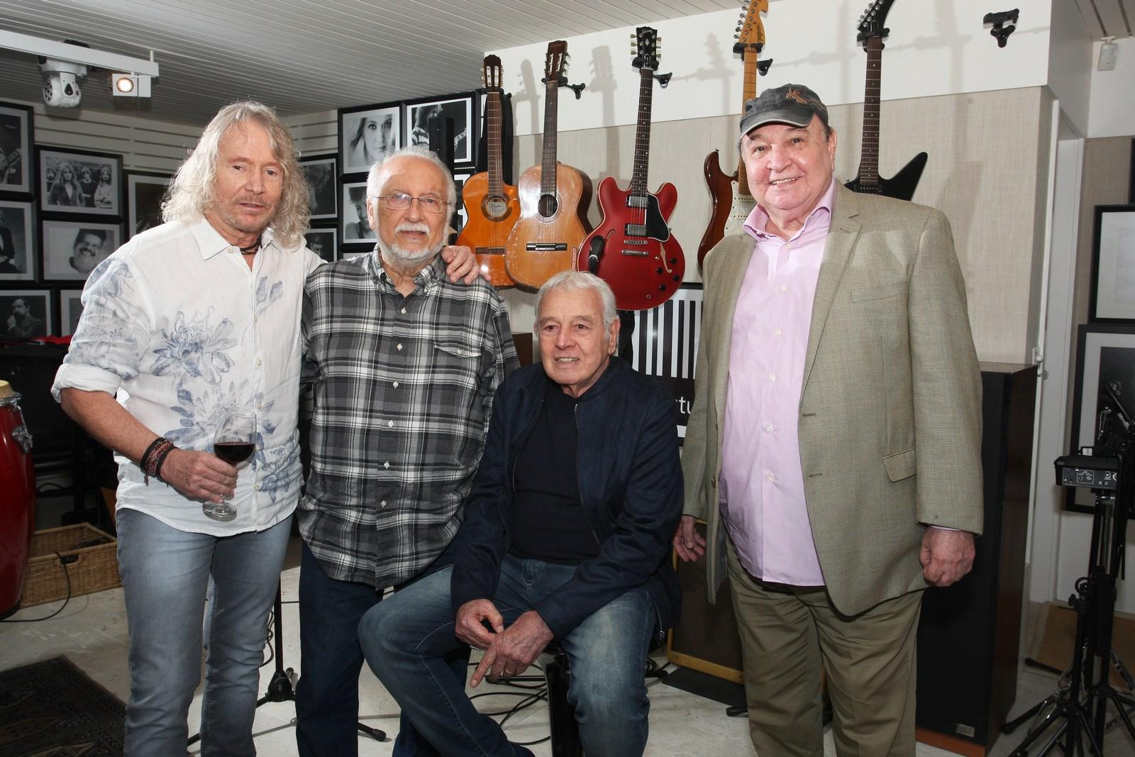 """Festa marca lançamento do CD """"Os Bossa Nova"""" e os 75 anos de Marcos Valle"""