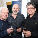 Carlos Lyra,Jose Staneck e Carlos Alberto Chateaubriand