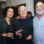 Paula Morelenbaum,Carlos Lyra e Jacques Morelenbaum