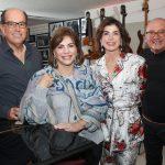 Carlos Uchoa e Andrea Buffara,Patricia Paltier e Gilberto Buffara