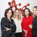 Patricia Quentel,Flavia Pardini,Patricia Mayer e Marcia Muller