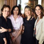 Patricia Quentel, Gisele Taranto, Patricia Marinho e Esther Schattan