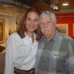 Ana Paula Protásio e Mathias Marcier