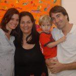 Beatriz Zugliani, Isabela Simões, Alex e Daniel Regadera