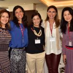 Celina Ozório, Agnes Costa, Anna Carvalho, Marise Grinstein e Cátia Tokoro