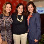 Celina Ozório, Anna Carvalho e Patrícia Pradal