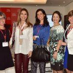Cristina Pinho, Marise Grinstein, Agnes Costa, Ana Zambelli e Anelise Lara