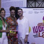 Dani Correa, Silvetty Montilla e Ricardo Gamba