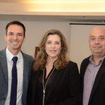 Douglas Andrade, Andrea Repsold e Michael Nagy