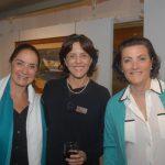 Elisa Azevedo, Laura Carneiro e Christina Monnerat