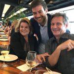 Anna Ramalho, Bruno Astuto e Paulo Reis