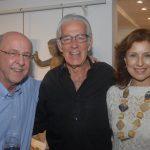 Evandro Carneiro com José Carlos e Beatriz Barreto