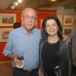 Evandro Carneiro e Tessy Callado