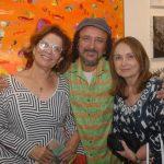 Fátima Santos, Fernando Mendonça e Lidia Moraes