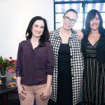Fabiola Miguelete, Rosane Arraes e Adelma Fonseca