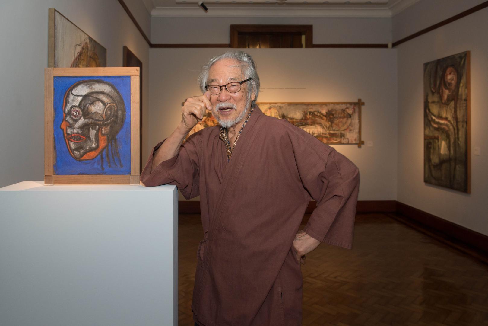 """Pinakotheke Cultural inaugura exposição """"Flavio-Shiró"""""""
