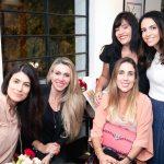 Fran Zanon, Talita Fogaça, Rafaela Klien, Adelma Fonseca e Fernanda Carmino