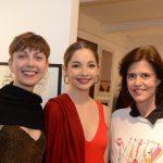 Giselle Wittmann, Maria Osório e Cristina Paulino