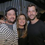 Marcelo Serrado, Adriana Esteves e Vladimir Brichta