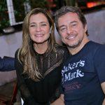 Adriana Esteves e Carlos Vieira
