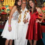 Julia, Maria Bethânia e Nina Mothé