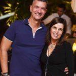 Junior Grego e Andrea Chicharo
