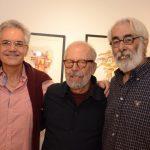 Lauro Cavalcanti, Luiz Áquila e Roberto Magalhães