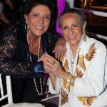 Leda Nagle e Maria Bethânia