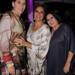 Lidia Azulay, Ana Basbaum e Vera Mothé