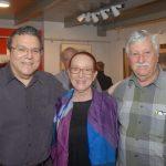 Luís Cancel, Regina Miranda e Mathias Marcier