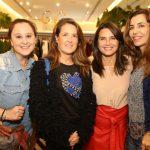 Luisa Saboia, Denise Malta, Fernanda Chies e Estela Mariane
