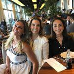 Márcia Verissimo, Tania Pereira e Tania Carvalho