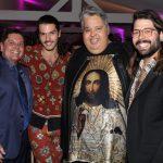 Marcio Mothé, Patrick Doering, Paulo Zingyer e Thomaz Azulay