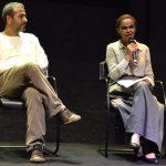 Marcos Palmeira e Marina Silva