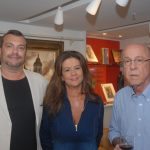 Marcos e Fabiana Scorzelli com Evandro Carneiro