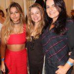 Maria Eduarda, Alessandra Curvello França e Katia Ammon Mariz