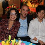 Monique Beliel, Fabio e Bernardo Baptista