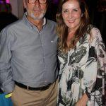 Nilson Junior e Flavia Ferrer