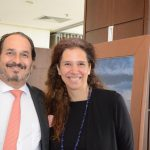 Philippe Seigle e Cristina Braga