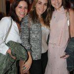 Renata Vaz, Carol Aquino Andrade e Daniela Soares