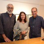Roberto Magalhães, Ana Tereza Cabral e Luiz Carlos Nabuco