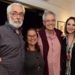 Roberto e Beth Magalhães com Lauro Cavalcanti e Toia Lemann