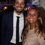 Rodrigo Simas e sua mãe Ana Paula Sang