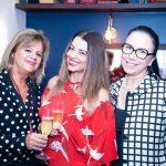 Rosana Rodrigues, Paloma Hasse e Rosane Arraes