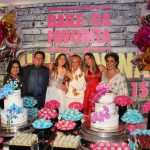 Vera, Marcio Mothé Julia, Maria Bethânia, Nina e Ana Basbaum
