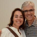 Úrsula Tautz e Renato Camargo