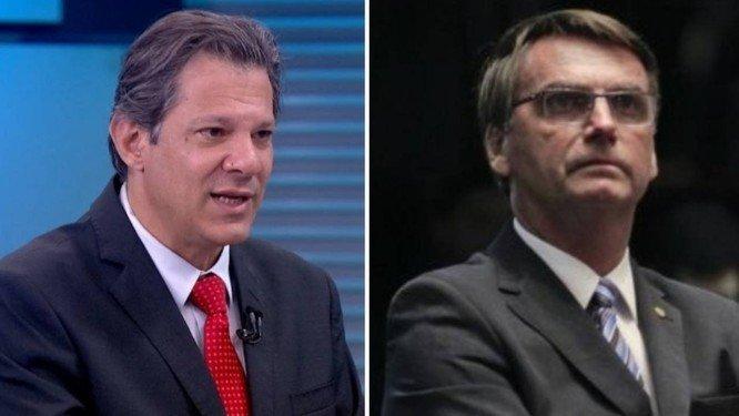 Haddad e Bolsonaro: a moda de cada um