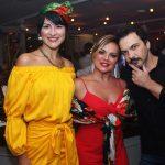 Ana Maria Lima,Paula Simonsen e Leo Paes Leme
